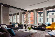 HGTV Fresh Faces of Design - Big City Digs: Urban Loft With Colorful Art by John Beckmann >> http://www.hgtv.com/design/fresh-faces-of-design/2015/big-city-digs?soc=pinterest