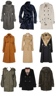 fall and winter coats #fashion #trends