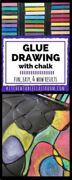 25+ best ideas about Chalk drawings