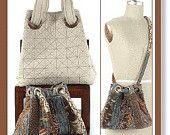 Grids and Grommets purse handbag pattern by Indygo Junction