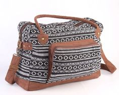 Native American Large Weekender Bag Hipster College by TaTonYon