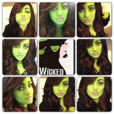 WICKED / Elphaba Inspired Makeup  Follow: www.bodyandsolgoddess.wordpress.com
