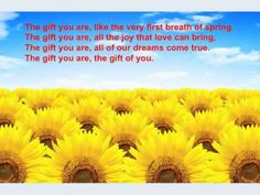 The Gift You are by John Denver