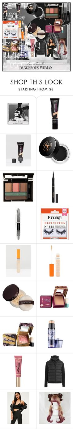 """""""GET THE LOOK: ARIANA GRANDE 'EVERYDAY' MAKEUP & OUTFIT"""" by oroartye-1 on Polyvore featuring beauty, L'Oréal Paris, Anastasia Beverly Hills, NYX, Rimmel, Laura Mercier, Hoola, Benefit, Too Faced Cosmetics and Woolrich"""