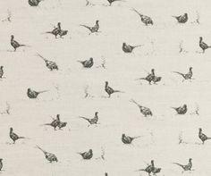 Pheasant Fun Fabric - Milton & Manor - A Farmhouse Creation