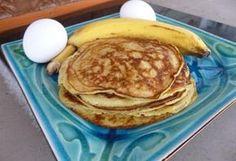 tojás-banán palacsinta kókuszzsíron