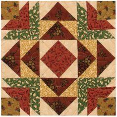 """Calendar Sampler, November"" from Thimbleberries Beautiful Blocks for Beautiful Quilts by Lynette Jensen."