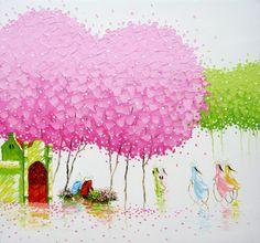 30 MindBlowing and Vivid Paintings by Phan Thu Trang - Award winning Landscapes. Follow us www.pinterest.com/webneel