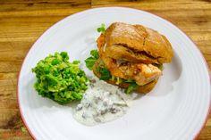 Fischburger -- Rezept und Anleitung - Natürlich Lecker