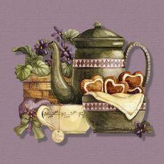 tea pot and other goodies