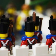 Soldiers on Duty  From #brickvention  #lego #afol #bricknetwork #photos #photography #camera #legophoto #toyphoto #minifig #minifigures #photo #toy #brickphoto #brick #piece #micro #minifigure #soldier #sailor #pirate LEGO