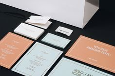 Brand Identity for I AM Studio by The Bakery via The Design Blog