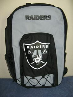 MULTI-FUNCTIONAL, OAKLAND RAIDERS, OFFICALLY LICENSED BACKPACK FROM CONCEPT ONE #ConceptOne #OaklandRaiders