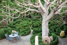 Designer Richard Shapiro's garden
