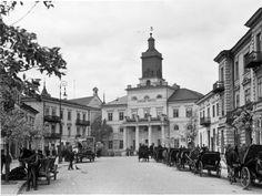 Lublin. Ratusz - widok zewnętrzny.