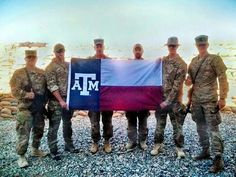 God Bless our Texas A & M troops. Gig 'em!