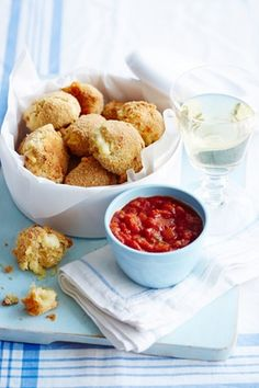 Cheesy Croquettes