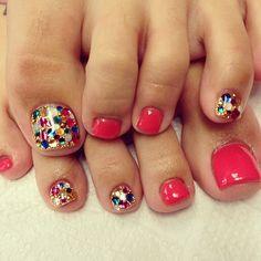 #nail #nails #nailart #nailartclub #ネイル #ネイルアート #foot