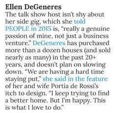 Ellen Degeneres And Portia, Portia De Rossi, 20 Years, The Past, Passion