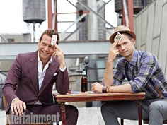 Look at Gabriel Macht & Patrick J. Adams.