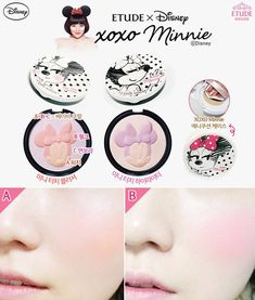 [New Collection/updated] Etude House XOXO Minnie Disney Collection [Only in Korea]