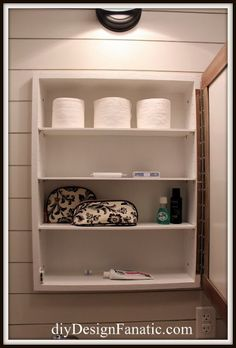 diy pottery barn inspired medicine cabinet, bathroom ideas, diy, small bathroom ideas, woodworking projects
