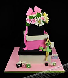 Bridal shower cake by Design Cakes, via Flickr