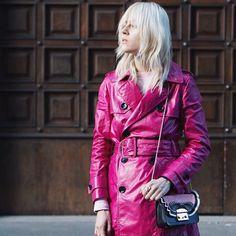 Pink is not just a color it's an attitude @furla #furla90anniversary #bubbleoftime #furlafeeling