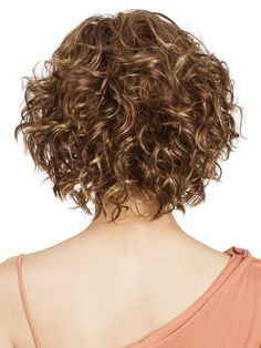 The Haily Lace Front Wig by Tony of Beverly is a modern, punchy bob with loose ringlets all over that will make your look sizzle this summer! The side swept bangs on a Lace Front, curl away from the face and elevate the total look. This wig is an easy sha Curly Hair With Bangs, Short Curly Hair, Curly Hair Styles, Long Hair, Curly Bob Hairstyles, Hairstyles With Bangs, Easy Hairstyles, Synthetic Hair, Hair Trends
