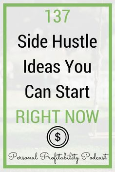 Looking to make more money or start a side hustle? Your guide to the top 137 side hustle ideas here! - Earn Money at home Earn More Money, Ways To Earn Money, Earn Money From Home, Money Tips, Money Saving Tips, Way To Make Money, Make Money Online, Money Hacks, Money Savers