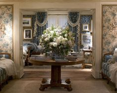 Ralph Lauren english Interiors. Just need to remove the net curtains and then it would be a lovely cosy sitting room.