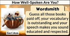 How Well-Spoken Are You?