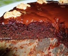 Cviklový vegan koláč (fotorecept)