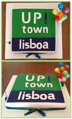 Bolo 1º aniversário loja UP!town Lisboa