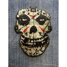 NEW IN STOCK! Misfits Official Merchandise Product New IRON-On-Patch CRYSTAL LAKE http://ift.tt/1P7pjKx