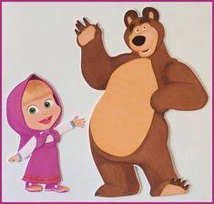 Masha and the Bear Invitation Masha and the Bear Birthday Anna Disney, Bear Birthday, Dinosaur Birthday, Drawing Cartoon Characters, Cartoon Drawings, Disney Coloring Pages, Coloring For Kids, Masha Et Mishka, Krishna Birthday