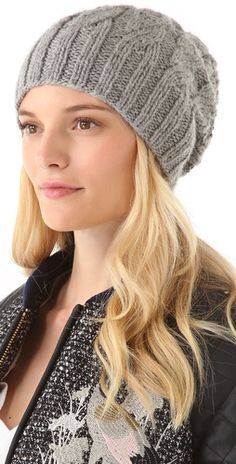 beanie - this would be so easy to make.  @Laurie Mikalunas...this is cute....maybe you can make me one?! =]
