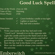 money spell Good Luck Spell Simple spell for good luck that can be done daily - wealthylife Powerful Money Spells, Money Spells That Work, Spells That Really Work, Hoodoo Spells, Magick Spells, Candle Spells, Wiccan Spells Money, Good Luck Spells, Easy Spells