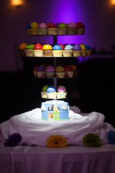 Up themed wedding cake Cup cakes  Disney wedding Pixar up wedding Rainbow…