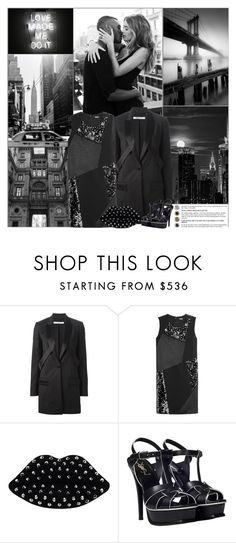 """""""Love Made Me Do It"""" by kittyfantastica ❤ liked on Polyvore featuring Givenchy, DKNY, Lulu Guinness and Yves Saint Laurent"""