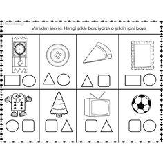 #etkinlikasigi #nurayogretmen #matematik #çalışmasayfasi #sanatetkinligi #etkinlikzamani #okuloncesipaylasim #etkinliklerdünyasi #preschollactivites #anasınıfıetkinlik #etkinliksayfası #etkinlikpaylasimi #okuloncesifaaliyet #okuloncesietkinlik #teacherfollowteachers Grade R Worksheets, Shapes Worksheet Kindergarten, Preschool Assessment, Math Literacy, Preschool Worksheets, Kindergarten Math, Preschool Activities, Cute Powerpoint Templates, Teaching Shapes