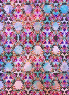 Nikki Strange Glittering Tribal Art Print