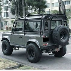 Defender 90 With roll cage Defender 90, Land Rover Defender, Defender Camper, Off Road Adventure, Expedition Vehicle, Roll Cage, Jeep 4x4, Lifted Trucks, Fast Cars