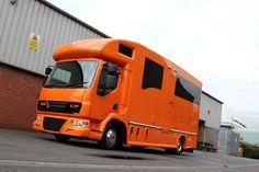 Helios horsebox - 7.5 tonne - pearl orange