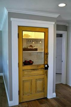 Ordinaire Why A Cool Pantry Door Is The Secret Ingredient To A Cool Kitchen Design |  Pinterest | Pantry, Design Design And Kitchen Design