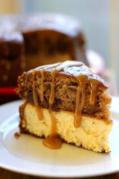 Sticky Toffee Pudding Cheesecake > Willow Bird Baking