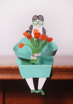 Paper people : Malin Koort