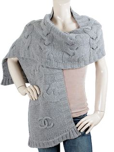 chanel_scarf_-_grey_cashmere_cable_knit_scarf_-_ac464.jpg (480×640)