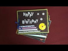 Scrap Book Ideas For Sister Birthday Complete Tutorial
