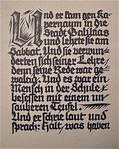 Rudolf Koch / The Healing of the Possessed